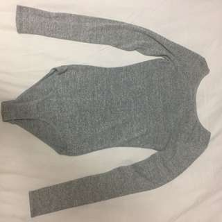 Wilfred Free Long sleeve Bodysuit With Low Back