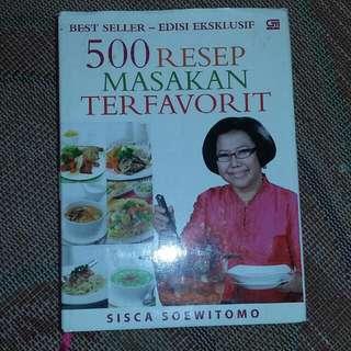 Buku 500 Resep Masakan