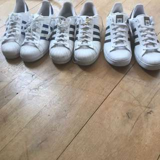 Adidas Shoe. 2 Second Hand Size 13 1 New Size 12