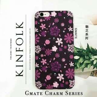 iPhone 7/7 Plus Charm Series Flower Hard Case