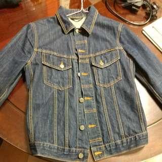 Nudie Terry Denim Jacket S Size