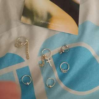 Peaceminusone GD Justine Clenquet Earring
