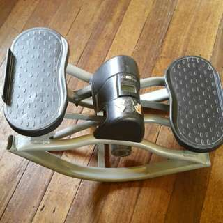 Portable Foot And Leg Exercise Machine