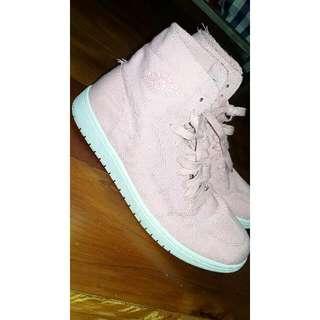 Pink Nike Air Jordans