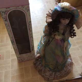 The Beautiful Porcelain Handpainted Doll