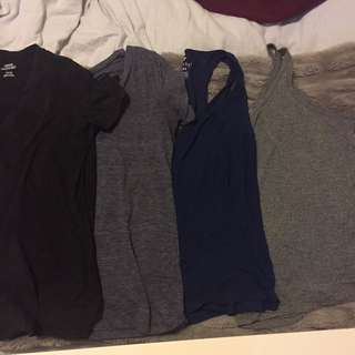 Plain Tops 15$ For All Or 5$ Each