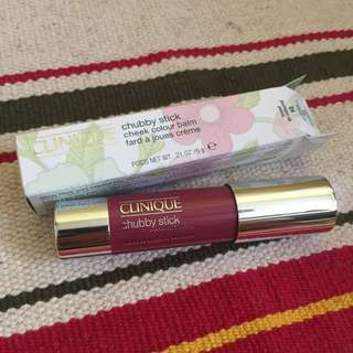 Clinique Chubby Stick Cheek Colour Balm 胭脂