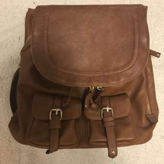 Leather Backpack From Aldo