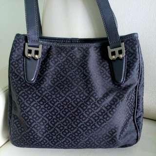 Authentic Black Bally Bag
