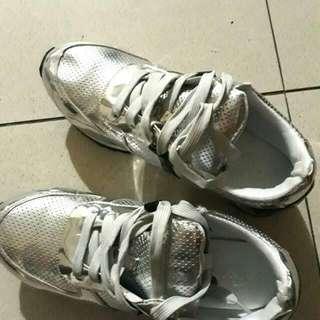 Sneakers Silver 'Tracce'