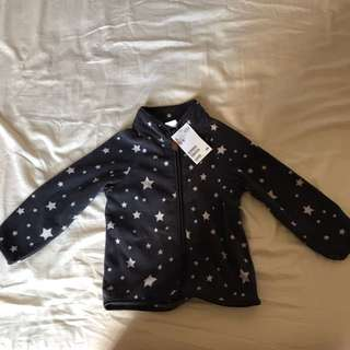 BN H&M Fleece Jacket (1.5-2yo)