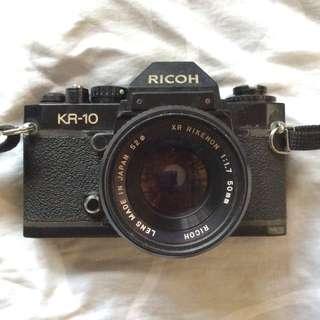 Vintage Film Camera Ricoh KR-10