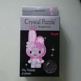 My Melody 3D水晶砌圖puzzle