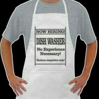 Dishwashers Required Urgently(Malaysians Welcomed)