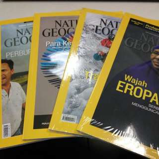 (Preloved) Majalah National Geographic