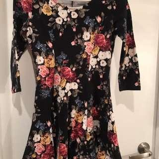 Forever21 Floral Skater Dress