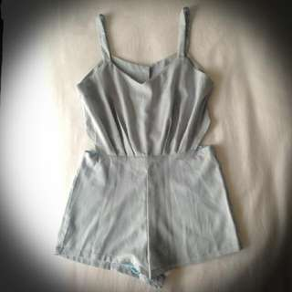Romper With Cut-out Sides