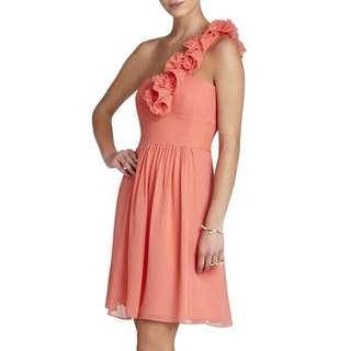 BCBG Thalia One Shoulder Dress (Never worn)