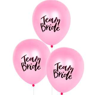 10 x Pink Hens Night Party Balloons