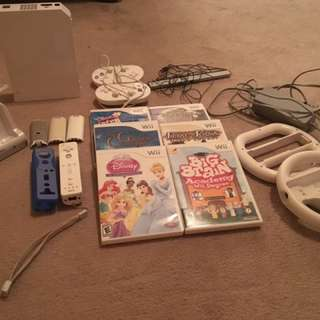 Wii Console Plus Games
