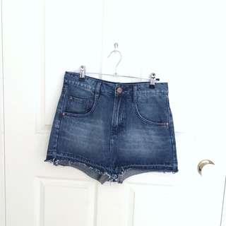 Cotton On Denim Cut Off Shorts