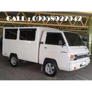 L300 For hire Quezon City ( FOR RENT )
