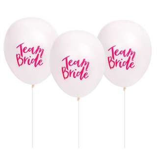 10 x White Hens Night Party Balloons
