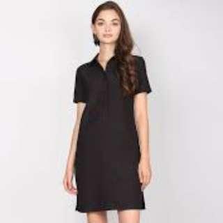 [FABFAD] Lula Shirt Dress - Black