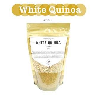 White Quinoa 250g - Certified Organic