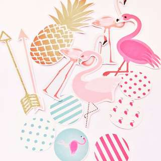 Sticker Pack Pink Flamingos Php30