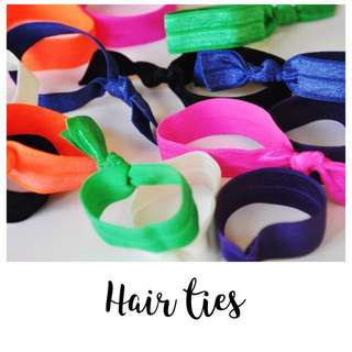 Hair Ties (set Of 10)