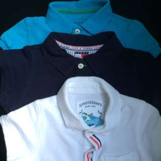 Lot Of 3 Polo's