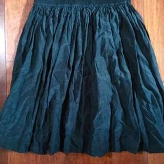 Gorman Silk/cotton Blend Skirt