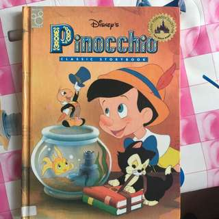 big And Thick Disney Classics Pinochio Story Book
