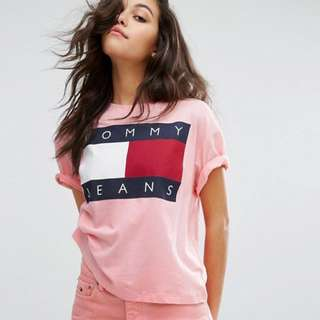 Tommy Jeans 90s Pink Top