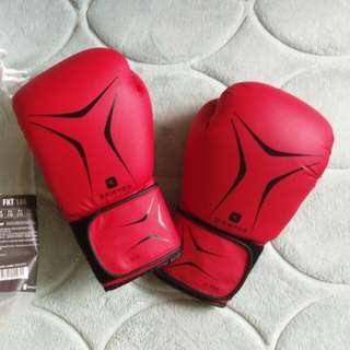 迪卡儂DOMYOS彈性透氣耐用初階拳擊手套8盎司