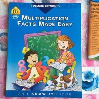 Primary 2 Multiplication Exercise In English