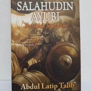 Islamic Books (MALAY) Title : Salahudin Ayubi, Penakluk Jerusalem