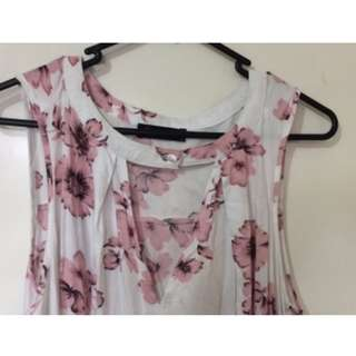 Ally Fashion Floral Dress (S)