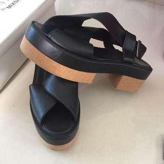 Platform Black Size 40