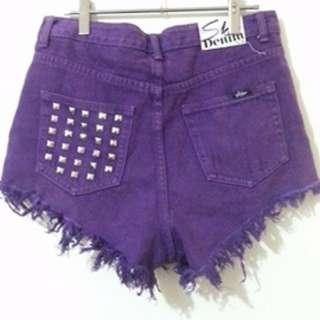 Skin Denim High Waisted Shorts 12