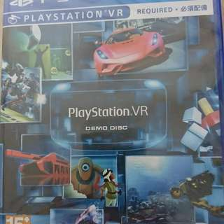 Ps4 Game PSVR Demo Disc 全新