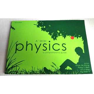 A level physics a comprehensive guide (1st Edition)