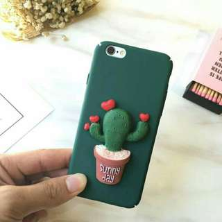 SUNNY DAY 3D Casing iPhone 5 5s SE 6 6s Hard Case