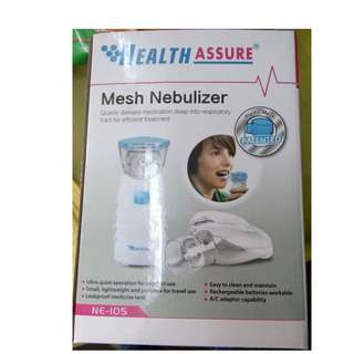 Portable Mesh Nebulizer (Health Assure/Made in Taiwan)