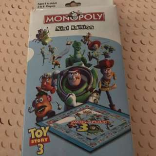 Monopoly Mini Edition Toy story 3
