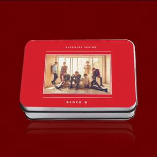 (Unofficial) *PREORDER* Block B Blooming Period Album Lomo Photocards