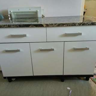 NEW PORTABLE KITCHEN CABINET