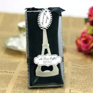 Paris Theme Bottle Opener Wedding, Birthday, Debut Souvenir Giveaway