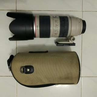 Canon EF 70-200mm f2.8L IS Mark II